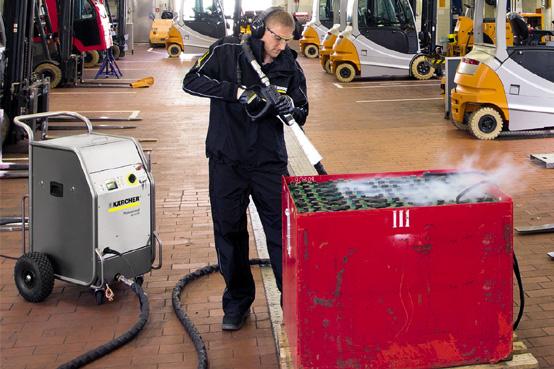 limpieza con hielo seco a presion