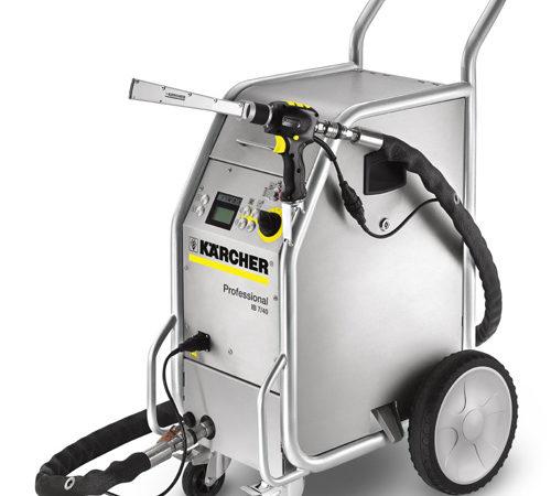 Servicio de alquiler de limpiadoras de chorro de hielo seco