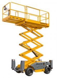 Compact 10 DX Capacidad máxima de elevación : 565 Altura de trabajo : 10