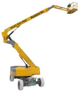 HA32 RTJ PRO Capacidad máxima de elevación : 250 Altura de trabajo : 32