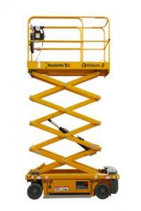 Optimum 8 Capacidad máxima de elevación : 230 Altura de trabajo : 8